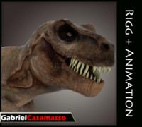 tyrannosaurus rex x