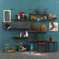 3d cattelan set decor