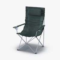 3d model camping chair 2