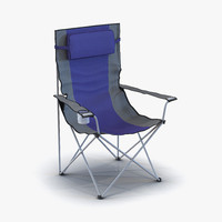 camping chair 3d max