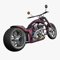 3d 3ds motorbike bike