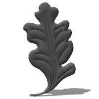 3d model wrought iron elements