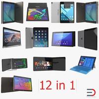 3d model tablets tab s