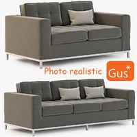 3d sofa modern jane