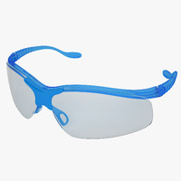 Medical Safety Glasses 2 Blue