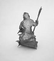 king statue 3d x