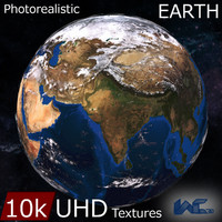 earth optimized realistic 3d model
