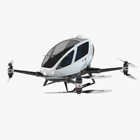 184 single passenger drone obj