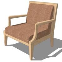 3d master chair design model