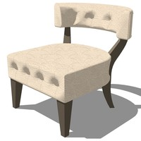 master chair 3d model