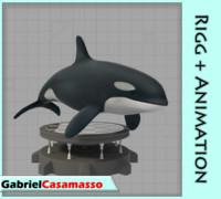 orca animation 3d x