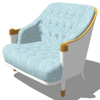3d master chair model