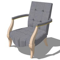 master chair design 3d model