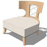 master chair design 3d 3ds