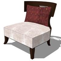 3d model master chair design