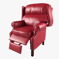berrington recliner 3d model