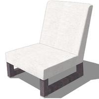 oriental chair design 3ds