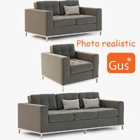 gus modern jane 3d model