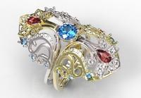 gold ring 3d model