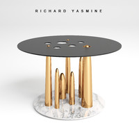 3d glory holes small table