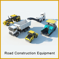 3d model road construction