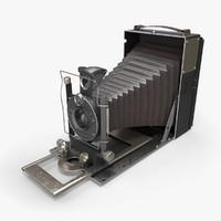 3d model retro camera