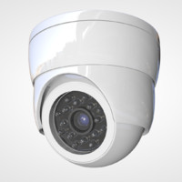 security camera 3d obj