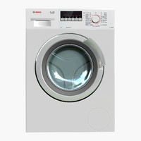 washingmachine bosch wlk2424zoe 3d max