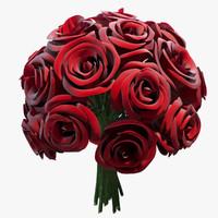roses flower 3d max