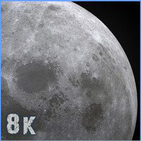 8k Moon