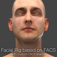 rig based facs 3d ma