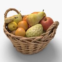 fruits ready unreal 3d model