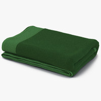 towel green fur 3d max