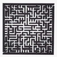 3ds maze labyrinth geometry