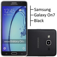 samsung galaxy on7 black 3d obj