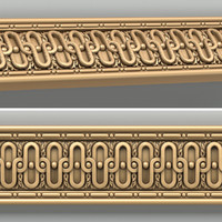 decorative molding 3d obj