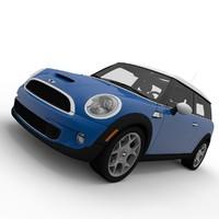 mini clubman 3d model