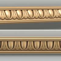 decorative molding 3d model