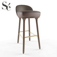 3d stylish beetley bar stool