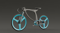 3d model bicycle design
