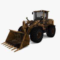 cat 938g loader 3d model