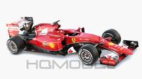 scuderia ferrari sf15-t formula car 3d model
