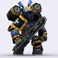 warbots gladiators - 3d 3ds