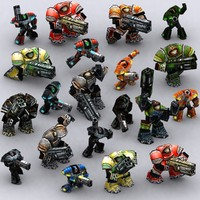 warbots micromarines - 3ds