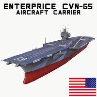 uss enterprise cvn-65 obj