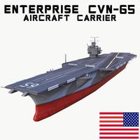 uss enterprise cvn-65 3ds