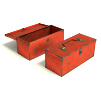 Toolbox 002 - Low Poly