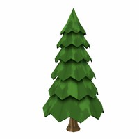 stylized fir tree ma