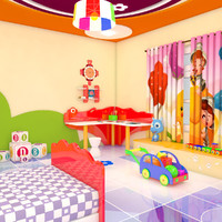 Cartoon Bedroom