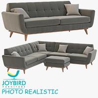3d joybird hughes model